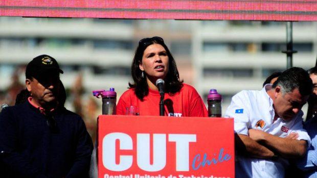 Así lo manifestó la presidenta de la CUT, Bárbara Figueroa