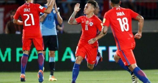 Chile da vuelta dramático partido contra Uruguay y gana 3-1