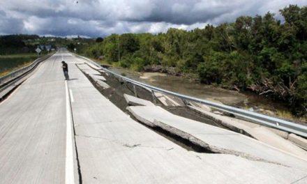 Al menos nueve réplicas se registraron tras el terremoto en Chile