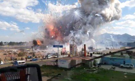 Explosión en un mercado de pirotecnia en México: confirman al menos 26 muertos