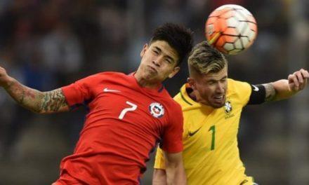 Roja Sub 20 empata ante Brasil y se prepara para duelo con Ecuador