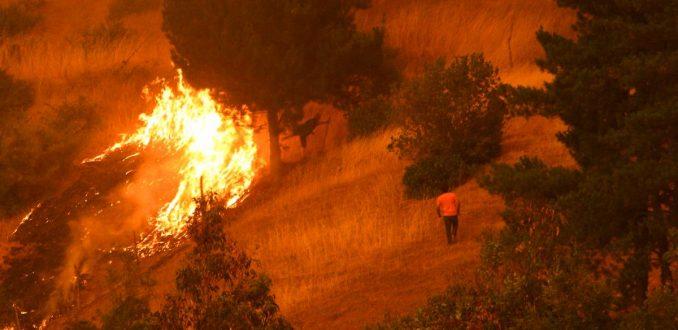 Arribo de apoyo internacional marca nueva jornada de combate a incendios
