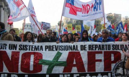 """No+AFP: """"No apoyaremos a ningún candidato que intente validar el sistema"""""""