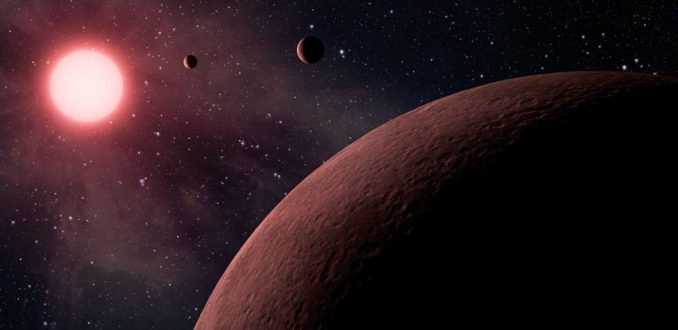 NASA descubre 7 planetas similares a la Tierra