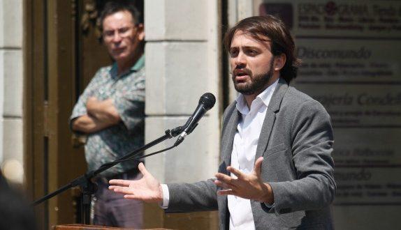 """Jorge Sharp por Frente Amplio: """"Debemos tener la voluntad de hablarle a los no convencidos"""""""