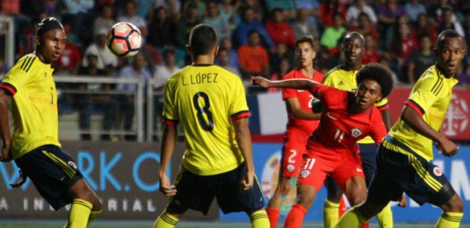 En dramático final, sub 17 logra empate con Colombia