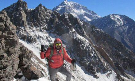 Asombroso hallazgo de un andinista chileno en el Cerro Tolosa de Mendoza