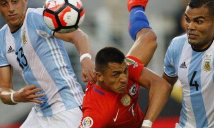 Chile cae ante Argentina y queda fuera de zona de clasificación a Rusia 2018