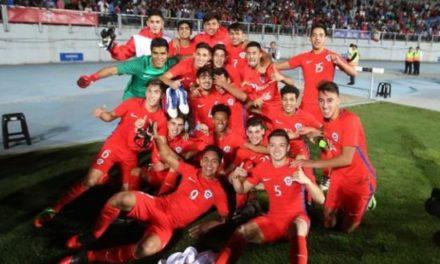 Chile Sub 17 clasifica al mundial de India