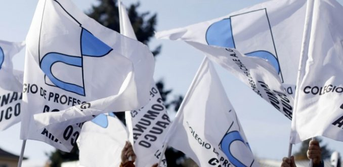 Magisterio se suma a marcha No+AFP
