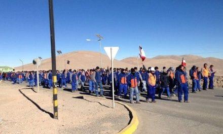 Trabajadores de Escondida no descartan extender huelga hasta 3 meses