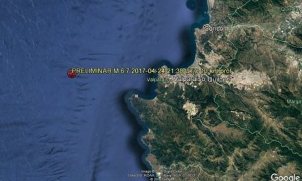 Fuerte sismo de 7,1 sacudió la zona central de Chile
