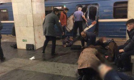 Explosiones en el metro de San Petersburgo: hay al menos 10 muertos