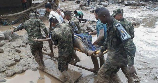 Luto en Colombia: Mocoa lamenta más de 200 víctimas fatales