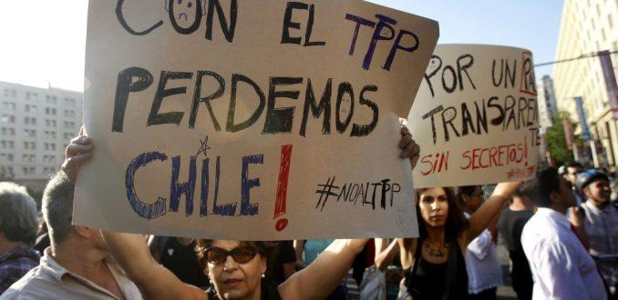 Chile Mejor sin TPP: Es una incoherencia que este Gobierno apoye a las transnacionales