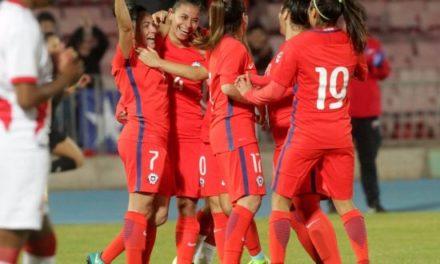Selección chilena de fútbol femenino goleó a Perú en el Nacional