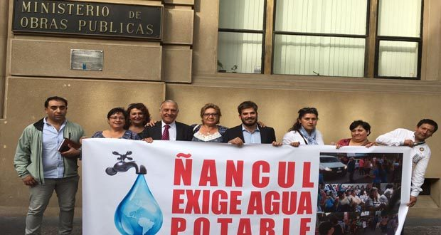 Contaminación de agua en Ñancul obliga a los vecinos solicitar emergencia sanitaria