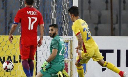Chile cayó ante Rumania