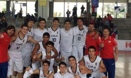 Selección Sub 17 de básquetbol arrolla a Colombia y clasifica a las semifinales del Sudamericano