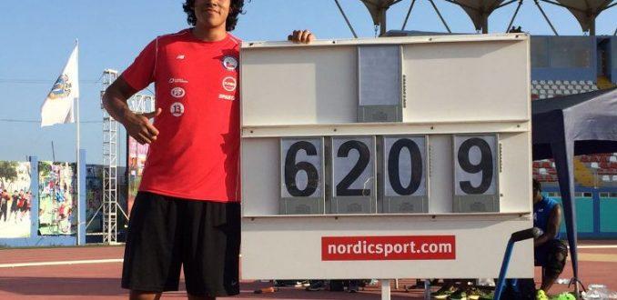 Claudio Romero medalla de oro en Panamericano de Atletismo Juvenil