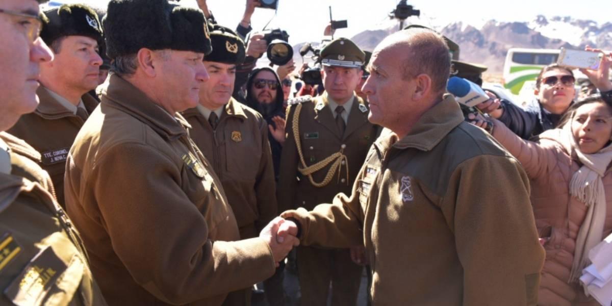 """General director tras la entrega de los dos carabineros: """"Fue la mejor decisión que pudo tomar el gobierno boliviano"""""""