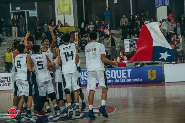 ¡Chile histórico! Campeón sudamericano de básquetbol
