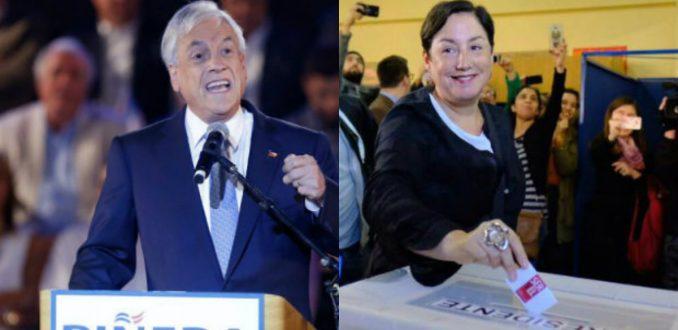 Sebastián Piñera y Beatriz Sánchez, amplias mayorías en las elecciones primarias