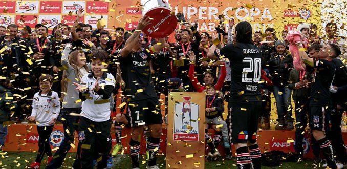 Colo Colo supercampeón del fútbol chileno