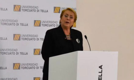 "Michelle Bachelet manifestó su temor a que en Chile ocurra una ""restauración conservadora"""