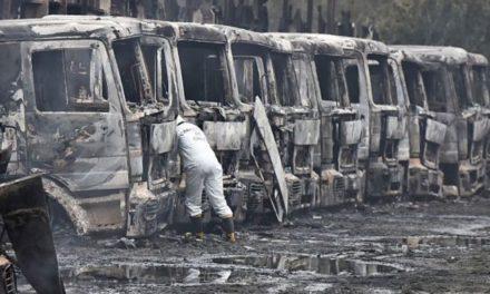 Quema de camiones en Los Ríos: Abogados cuestionan aplicación de Ley Antiterrorista