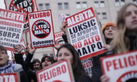 Organizaciones advierten que proyecto Alto Maipo está agonizando
