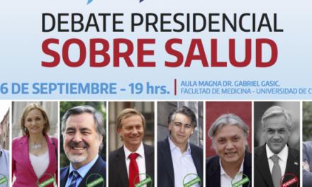 Debate sobre salud pública reunirá a todos los candidatos excepto Sebastián Piñera