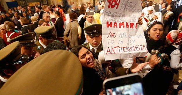 Tres de los cuatro comuneros mapuches deponen huelga de hambre