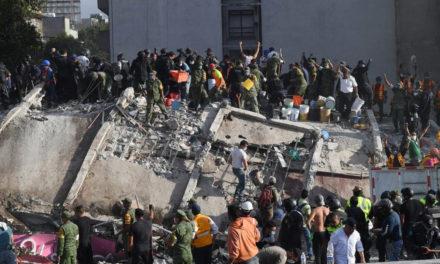 Un terremoto de 7.1 grados en la escala de Richter sacudió México: hay al menos 139 muertos