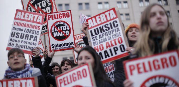 Convocan nueva marcha contra Alto Maipo para este domingo