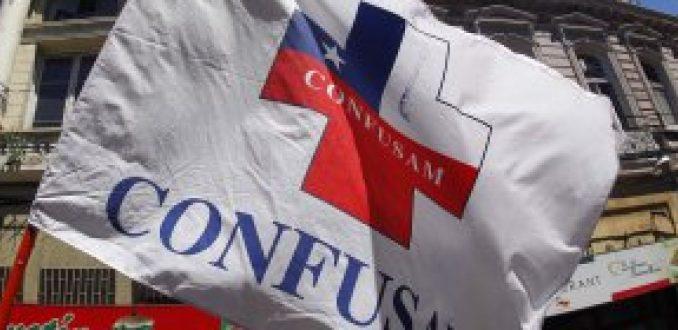 Confusam anuncia paro nacional para el próximo 17 de octubre