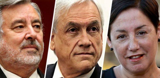 Encuesta CEP en vivo: Piñera dobla a Alejandro Guillier y Beatriz Sánchez se aleja