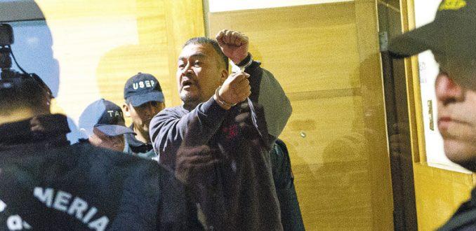 Corte Suprema ordena liberar a comuneros detenidos por Operación Huracán