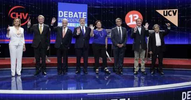 Debate Anatel: candidatos presidenciales se reiteran y eluden temas fundamentales
