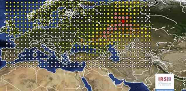Se extiende por Europa una nube radioactiva producida por un accidente nuclear