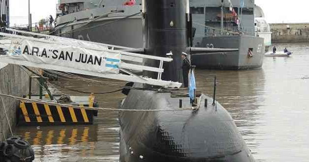 Armada argentina confirma explosión en búsqueda de submarino desaparecido