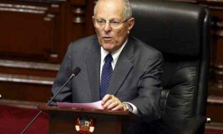 El Congreso de Perú rechazó la destitución del presidente Pedro Pablo Kuczynski