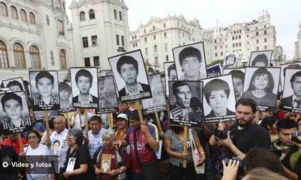 Miles de peruanos marcharon contra el indulto a Alberto Fujimori
