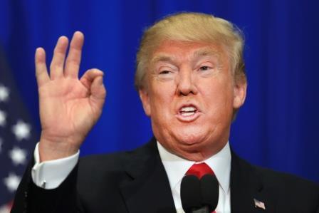 """Trump se ufana de su """"Misión Cumplida"""""""