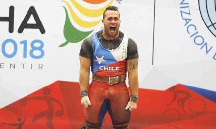 Record de Arley Méndez destaca en nueva jornada chilena en los Suramericanos