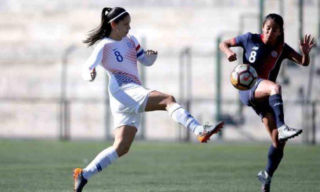 """La """"Roja"""" Femenina igualo 2 a 2 en nuevo amistoso ante Costa Rica"""