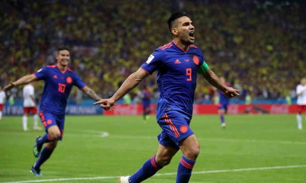 Colombia golea a Polonia y sigue con vida en el Mundial
