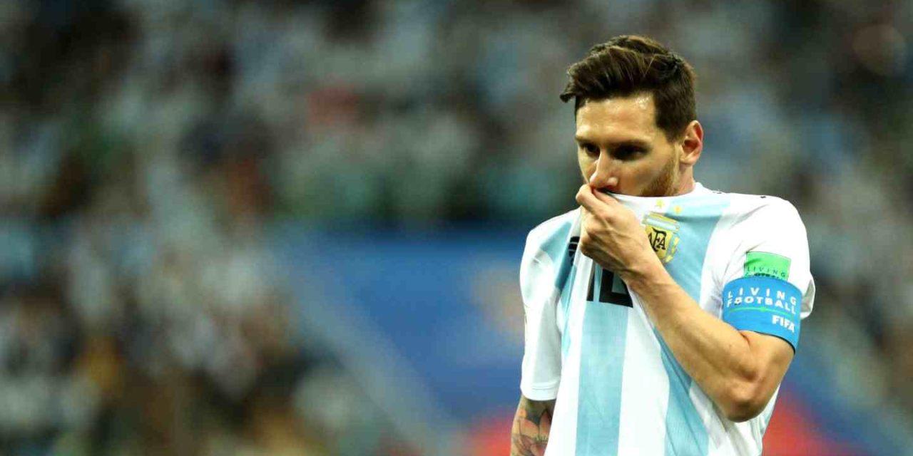¡Cuesta abajo Argentina! Messi al borde de la eliminación en Rusia