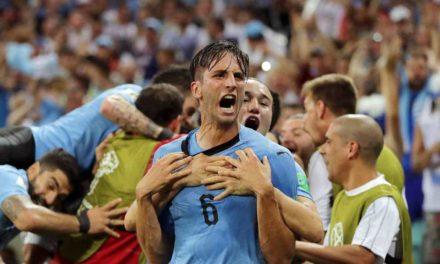 Uruguay envía a Cristiano Ronaldo de vuelta a Lisboa