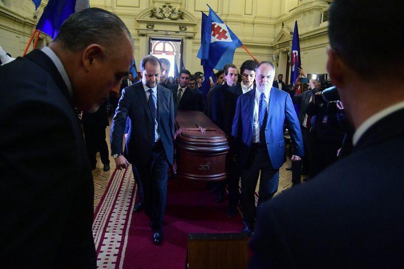 Chile despide a Andrés Aylwin con homenajes de todos los sectores políticos
